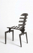 Terence Main's Frond chair 7 side diagonal view