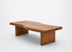 Maison Regain's coffee table, full diagonal view