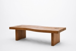 Maison Regain's coffee table, full diagonal view