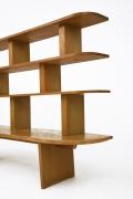 Charlotte Perriand's bookshelf, detailed view