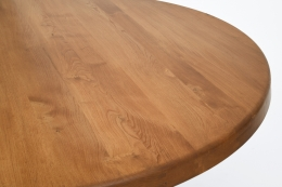"Pierre Chapo's ""T21E"" dining table, detailed view of top"