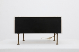 """Pierre Guariche's """"G60"""" table lamp front straight view"""