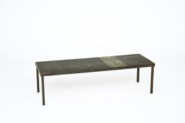 Pierre Lèbe's coffee table, full diagonal view
