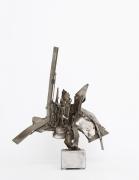 Albert Feraud's sculpture full front view