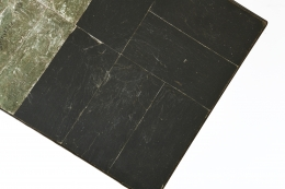 Pierre Lèbe's coffee table, detailed view of table top