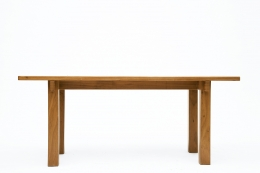 Charlotte Perriand's dining table, straight full view eye-level