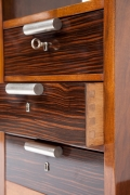 André Sornay's desk, detailed view of drawers