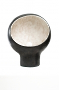 André Borderie ceramic table lamp straight view
