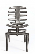 Terence Main's Frond chair 7 front view