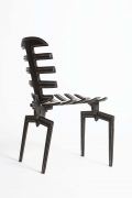Terence Main's Frond chair 7 side view