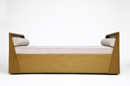 René Prou's daybed, full straight view
