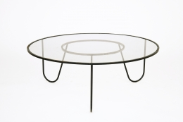 """Mathieu Mategot's """"Bellevue"""" table, full view from above"""