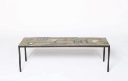 André Borderie's coffee table straight view