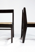 Pierre Jeanneret's pair of demountable chairs detailed view