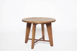 René Gabriel's pedestal table diagonal view from above