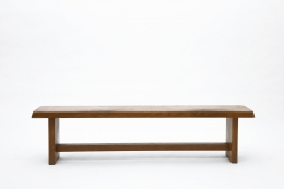 "Pierre Chapo's ""S14B"" bench straight view"