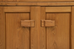 Maison Regain's sideboard detail of knobs