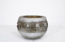 Marius Bessone's ceramic bowl, straight full view