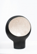 André Borderie ceramic table lamp front view