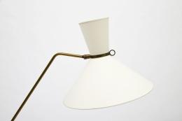 Robert Mathieu's floor lamp, detailed view of shade