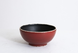 Georges Jouve's bowl, straight full view from above