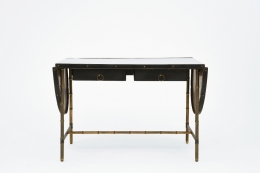 Jacques Adnet desk with sides closed