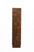 Momcilo Milovanovic's wooden sculpture straight front view