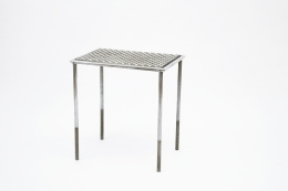 René Herbst table diagonal view from above