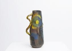 Roger Herman's ceramic vase front view