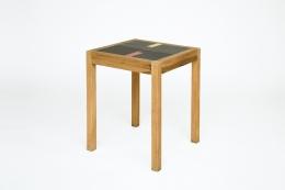 Henry Jacques Le Meme's table, full diagonal view