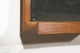 Le Corbusier & Charlotte Perraind's blackboard, detailed view of ledge