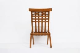 Robert Mallet-Stevens' foldable chair, full back view