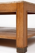 Jacques Adnet coffee table leg detail