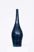 Robert and Jean Cloutier's ceramic vase straight view