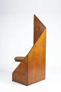 Hervé Baley's large chair back view