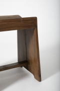 Pierre Jeanneret's stool, close up of side