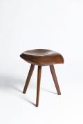 Michel Chauvet's stool straight view