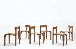 George Candilis' set of 6 chairs view three