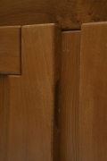 Maison Regain's sideboard detail of doors