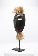 R. Weil's ceramic mask, full diagonal view