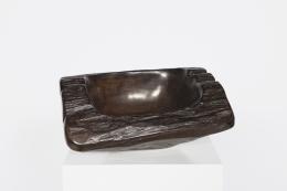 Alexandre Noll's Ebony bowl, top view
