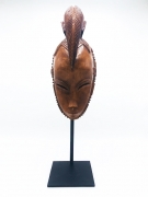 René Buthaud's mask straight view