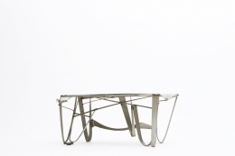 Albert Feraud's coffee table diagonal eye-level view