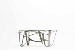 Albert Feraud's coffee table diagonal eye-level view