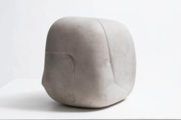 "Algae Liberaki's ""Sans Titre"" Sculpture diagonal view"