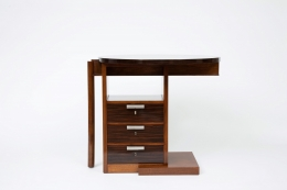 André Sornay's desk, front view, closed