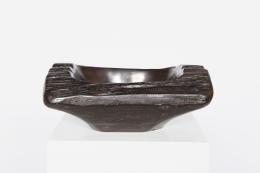 Alexandre Noll's Ebony bowl, front view