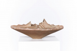 Annie Fourmanoir's ceramic bowl straight view from above