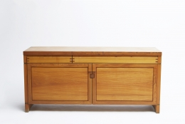 """Pierre Chapo's """"R08"""" sideboard straight view from above"""