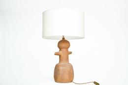 Claude & Jean Bersoux's table lamp, back diagonal view